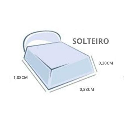 Imagem de Lençol com Elástico Solteiro Privilege Mostarda 1,88mx0,88cm