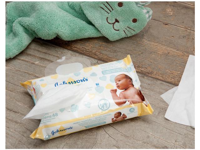 Imagem de Lenços Umedecidos Johnsons Baby Recém-Nascido