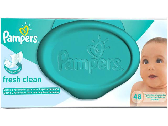 Imagem de Lenços Umedecidos Pampers Fresh Clean