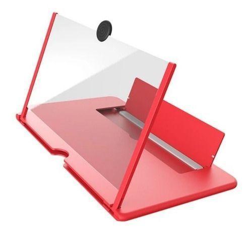 Imagem de Lente Ampliar Tela De Celular Aumento 3d Suporte Zoom Portat