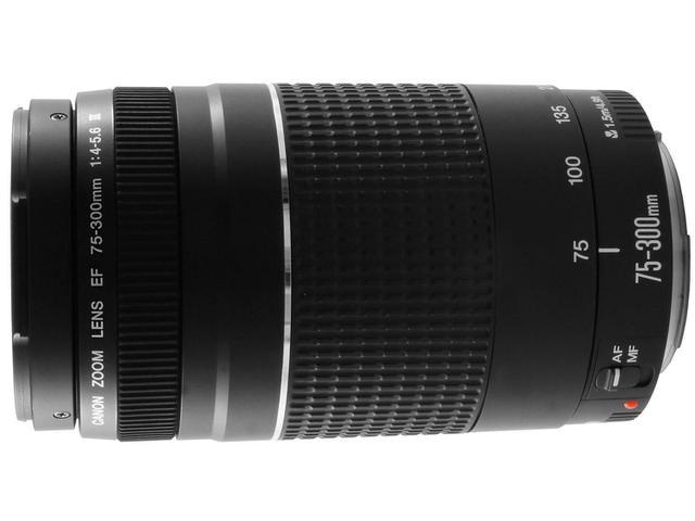 Imagem de Lente Canon EF 75 Zoom Telefoto
