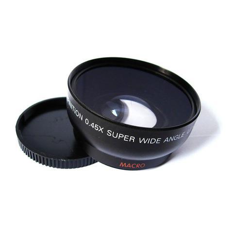 Imagem de Lente Grande Angular + Macro p/ Nikon 18-55mm