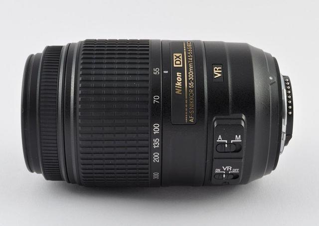 Imagem de Lente Nikon AF-S DX 55-300mm f/4.5-5.6G ED VR
