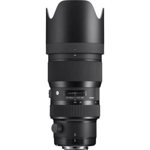 Lente Sigma 50-100mm f 1.8 DC HSM Art para Canon EF - Lente de ... 2710f33aaa