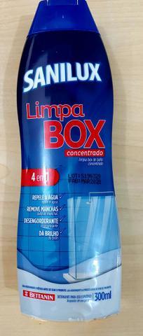 Imagem de Limpa box, portas, janelas e venezianas- Glass Multi Clean + Limpa box concentrado Sanilux