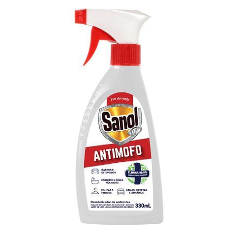 Imagem de Limpa Mofo + Limpa Limo Sanol - Anti Mofo E Elimina Limo de Paredes, Rejuntes, Azulejos, Ambientes etc