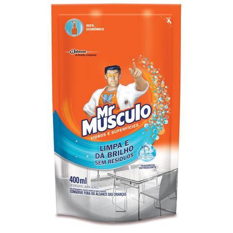 Imagem de Limpa Vidros Refil 400ml 1 UN Mr. Musculo