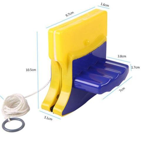 Imagem de Limpador Magnético Armários e Esquadrias Limpa Vidros Janelas - Mec