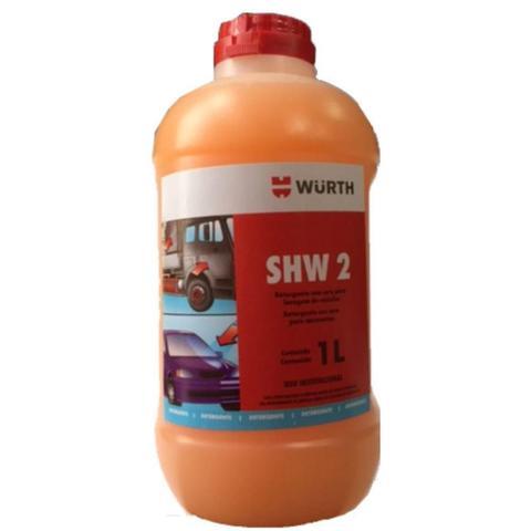 Imagem de Limpeza Automotiva Shampoo Detergente Com Cera Shw 2  Wurth 1 Litro