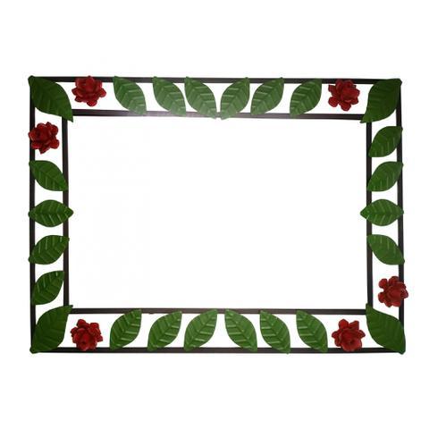 Imagem de Lindo Quadro De Ferro Moldura Para Espelho Moderno De Quarto de Casal