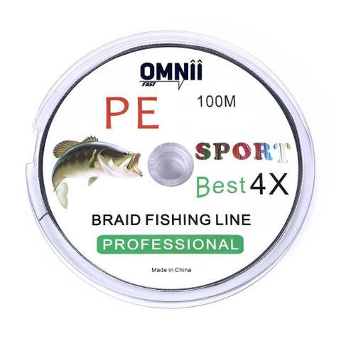 Imagem de Linha de Pesca Multifilamento 1.0 - 0,16 mm - 18 lbs 8,2kgs - 100m