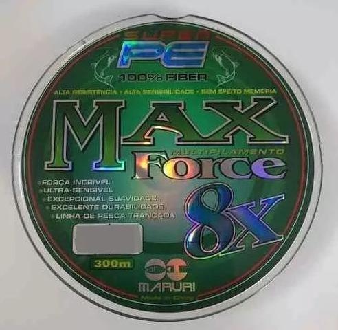 Imagem de Linha multifilamento maruri 8x pe max 300m 0,18mm 38lbs