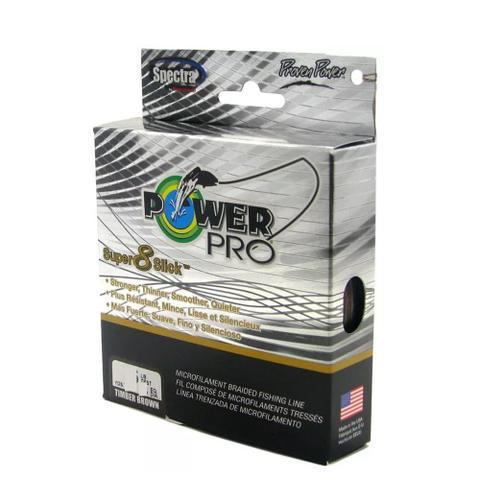 Imagem de Linha Pesca Multifilamento Power Pro Super 8 Slick 150yds 0.15mm 10 Lbs Amarela