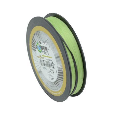 Imagem de Linha Pesca Multifilamento Power Pro Super 8 Slick 150yds 0.43mm 80 Lbs Verde