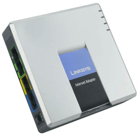 Imagem de Linksys Ata Voip Gateway Adaptador Spa3102 Fxs Fxo