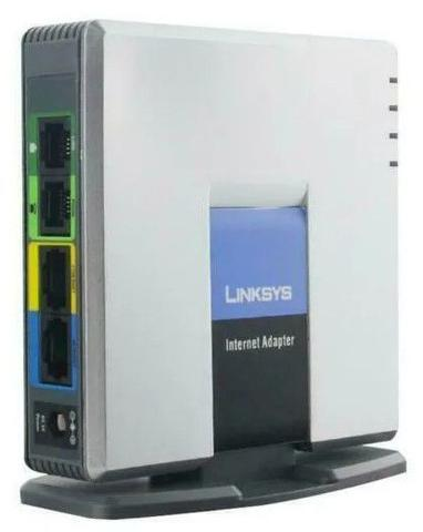 Imagem de Linksys SPA2102 2 FXS Analógicas Voip Gateway Ata Sip