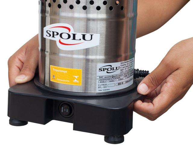 Imagem de Liquidificador 2L Inox Spolu