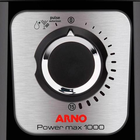 Imagem de Liquidificador Arno Power Max 1000, 3,1 Litros, Preto