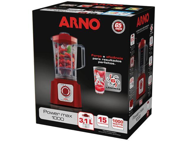 Imagem de Liquidificador Arno Power Max 1000 Vermelho