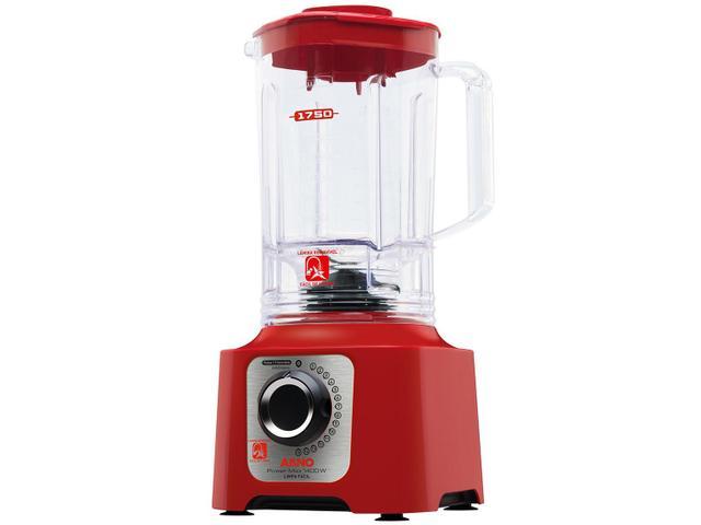 Imagem de Liquidificador Arno Power Max 1400 LN56 Vermelho