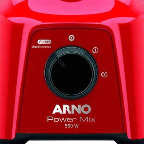 Imagem de Liquidificador Arno Power Mix Lq11 550w Vm - Vermelho