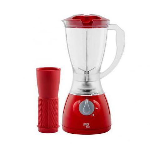 Imagem de Liquidificador faet 3 velocidades liquidificador vermelho