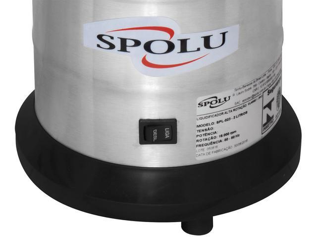Imagem de Liquidificador Industrial 2 Litros Spolu