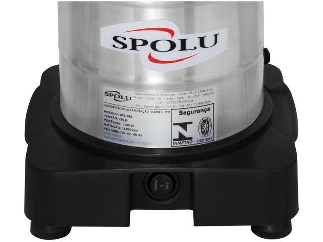 Imagem de Liquidificador Industrial 3,5L Inox Spolu