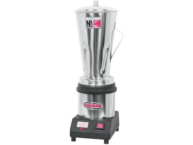 Imagem de Liquidificador Industrial 4L Inox Bermar