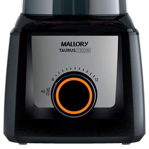 Imagem de Liquidificador Mallory Taurus Preto 1300w