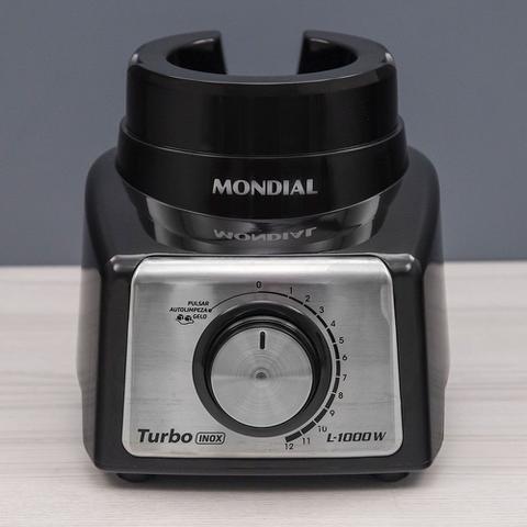 Imagem de Liquidificador Mondial L-1000 Bi com 12 Velocidades Preto