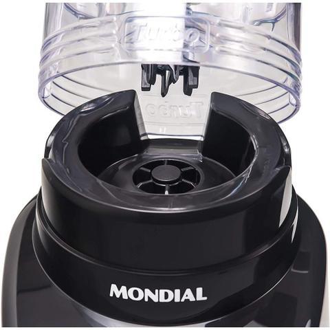 Imagem de Liquidificador Mondial L-1000 BI Turbo Premium - Copo 3L - Com Filtro - 12 Velocidades - 1000W - Preto e Inox