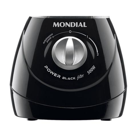 Imagem de Liquidificador Mondial L-38 Power Black Filter Preto 220v