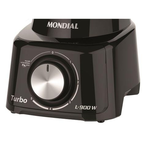 Imagem de Liquidificador Mondial L900 Turbo 900W 5 Velocidades 2,7L