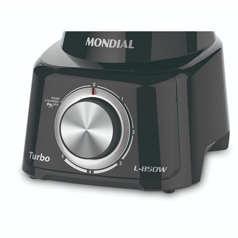 Imagem de Liquidificador Mondial Turbo Black L-850 850W 5V Com Filtro - 220V