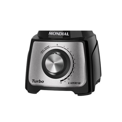Imagem de Liquidificador Mondial Turbo Inox L-1200 BI 1200W