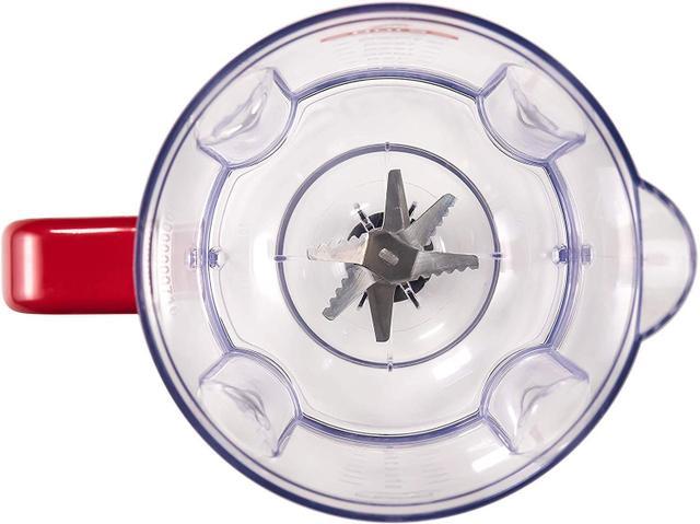 Imagem de Liquidificador Mondial Turbo Inox L-1200BI 1200W Vermelho - 127V
