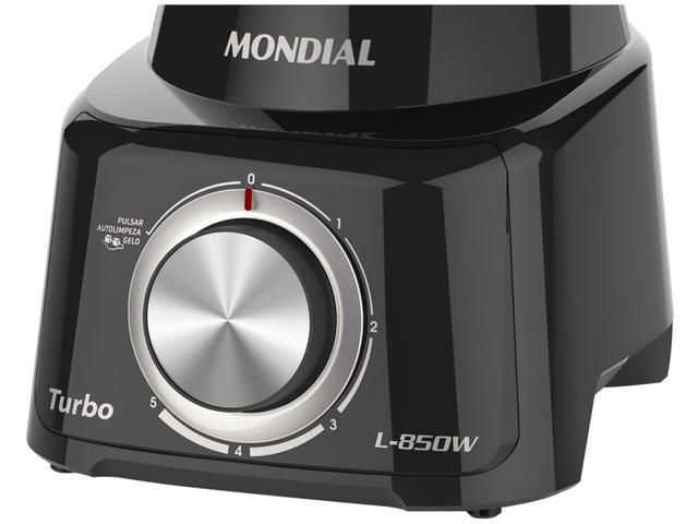 Imagem de Liquidificador Mondial Turbo L-850 Full Black
