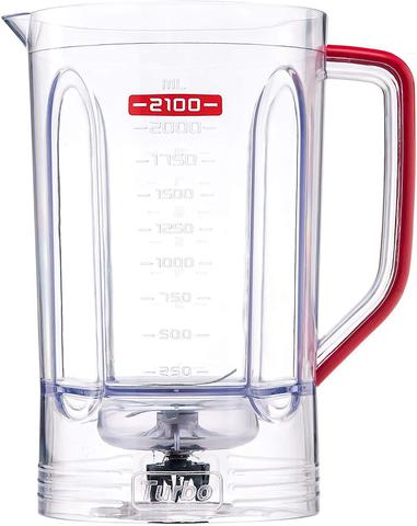 Imagem de Liquidificador Mondial Turbo Premium 1200W Vermelho - 110V