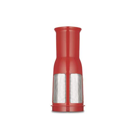 Imagem de Liquidificador turbo inox 12 velocidades 3l 1200w vermelho 127v
