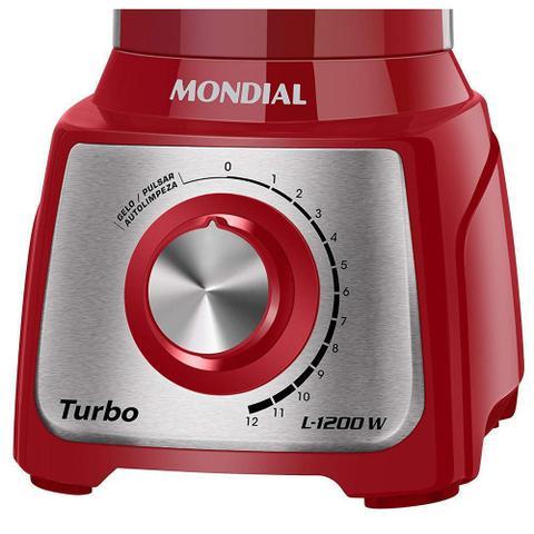 Imagem de Liquidificador Turbo Inox 1200w L-1200 Ri Mondial 127v