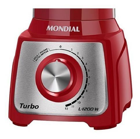 Imagem de Liquidificador turbo inox 3 l 1200w 12 vel l-1200 ri mondial