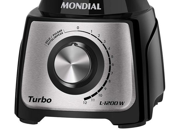 Imagem de Liquidificador Turbo Inox L1200BI Mondial 1200W 12 Velocidades