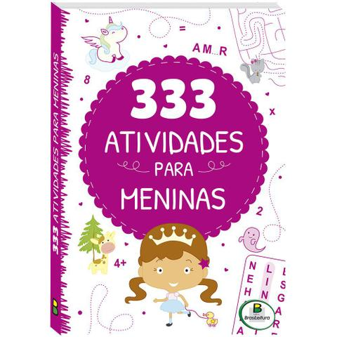 Imagem de Livro - 333 atividades... Meninas