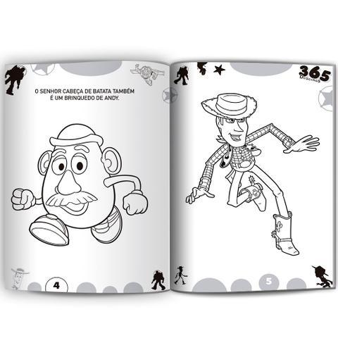 Livro 365 Desenhos Para Colorir Disney Meninos Livros De