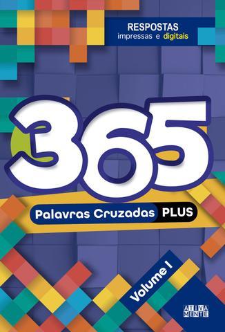 Imagem de Livro - 365 Palavras cruzadas plus - volume I