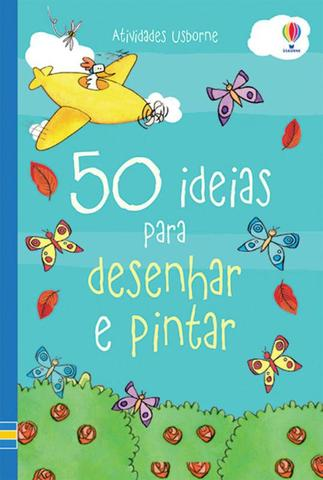 Imagem de Livro - 50 ideias para desenhar e pintar