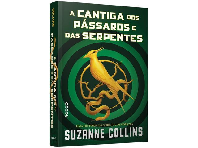 Imagem de Livro - A cantiga dos pássaros e das serpentes (com dois marcadores)
