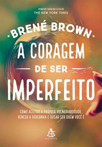 Imagem de Livro - A coragem de ser imperfeito