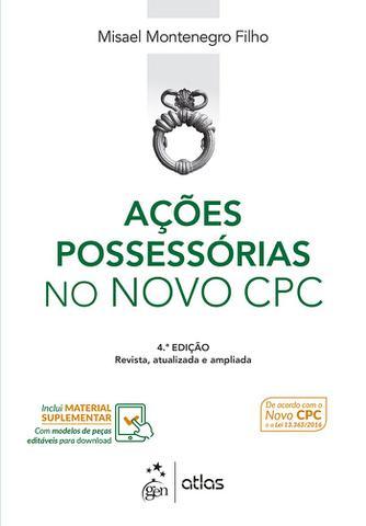 Imagem de Livro - Ações Possessórias no Novo CPC